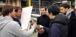 "Projekt ""SUBSTRAKTIV: GRADIENT FOLDS"" ICD Stuttgart mit Michael Reifer"